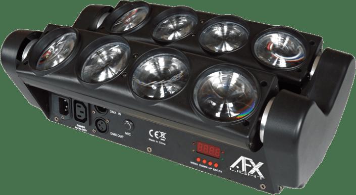spider AFX 8 beam